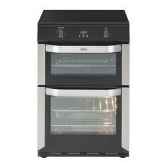 Belling 444443704/MG 60cm electric double oven