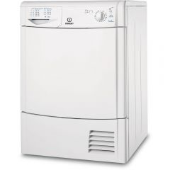 Indesit IDC75B/R 7Kg Condenser Dryer