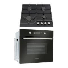 Montpellier SFOP94MFGG GAS HOB AND ELECTRIC OVEN PACK